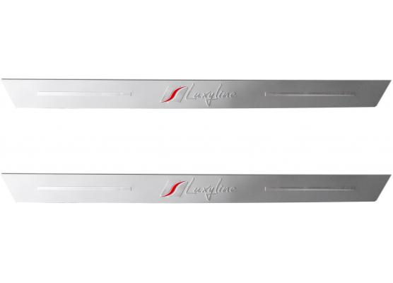 2 battitacco in alluminio Luxyline
