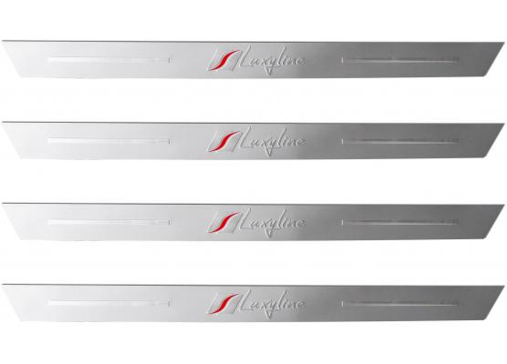 4 seuils de porte en aluminium Luxyline