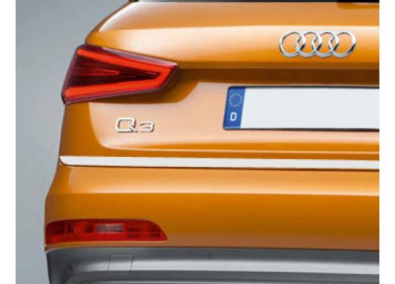 ChromZierleiste für Kofferraum Audi Q3
