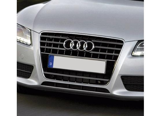 Radiator grill dual chrome trim Audi A5 Cabriolet 0911 Audi A5 Coupé 0711 Audi A5 Sportback 0911