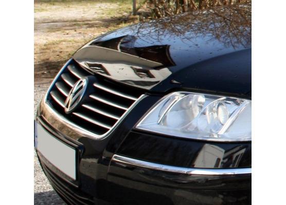 ZierChromleiste für KühlergrillOberteil VW Passat 9505