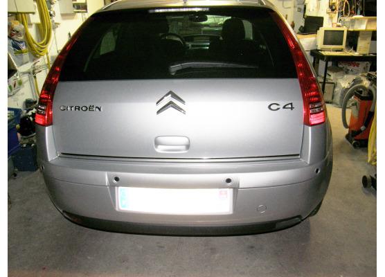Moldura de maletero cromada Citroën C4 0411 Citroën C4 Berline Citroën C4 Coupé Citroën C4 Picasso