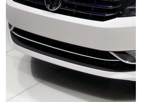 Cornice della griglia radiatore inferiore cromata VW Passat 1020 v1