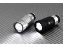 LED flashlight rechargeable on the cigarette lighter