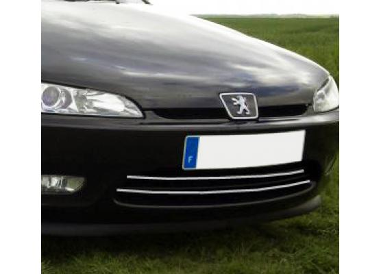 Moldura de calandria cromada Peugeot 406 coupé 9703