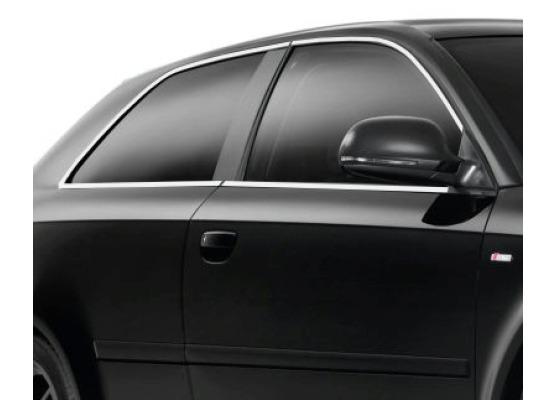 Moldura cromada de contorno de los cristales laterales Audi A3 Série 1 9600Série 1 Phase 2 0003S