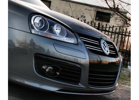 Moldura de calandria superior cromada VW Fox Golf 1235 GTIJettaPassatPhaetonSciroccoSharanT