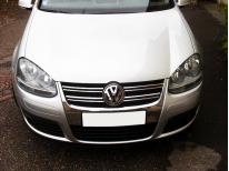 Upper radiator grill chrome trim VW Golf 5 GT TDI