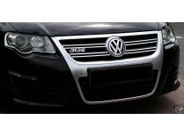 Upper radiator grill chrome trim VW Passat 0510