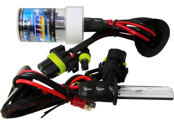 Lot de 2 ampoules xénon de rechange DC H1 6000k