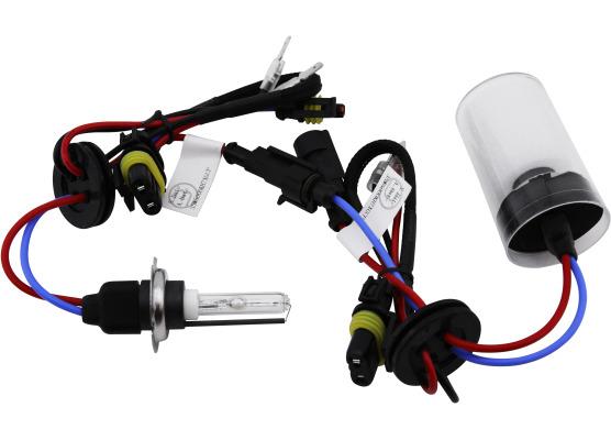 Lot de 2 ampoules xénon de rechange AC H7 6000k
