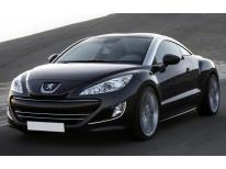 Chrome moulding trim for fog lights contours Peugeot RCZ 1012