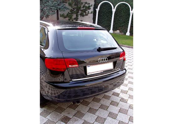 Fascia per bagagliaio cromata Audi A4 série 1 avant 9498série 2 0004série 2 avant 0104 A6 RS4 R