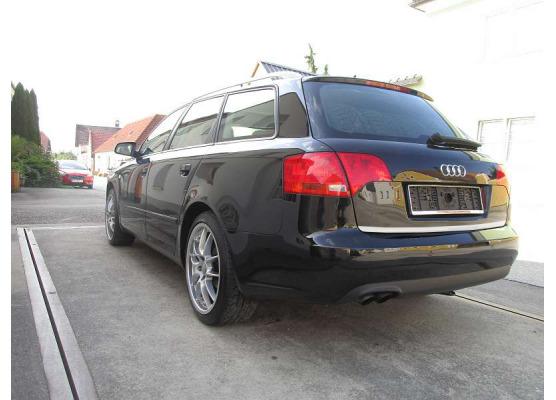 Trunk chrome trim Audi A4 série 2 phase 2 0408