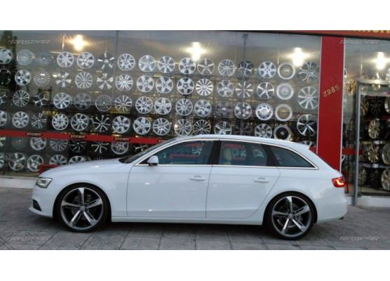 Side windows chrome trim Audi A4 série 3 avant 0811