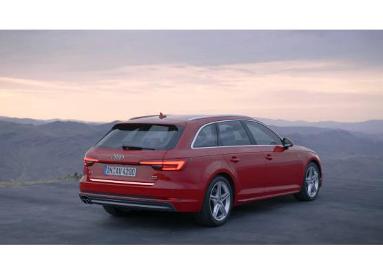 Trunk chrome trim Audi A4 série 4 avant 1520