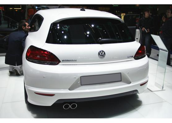 Trunk chrome trim VW Scirocco
