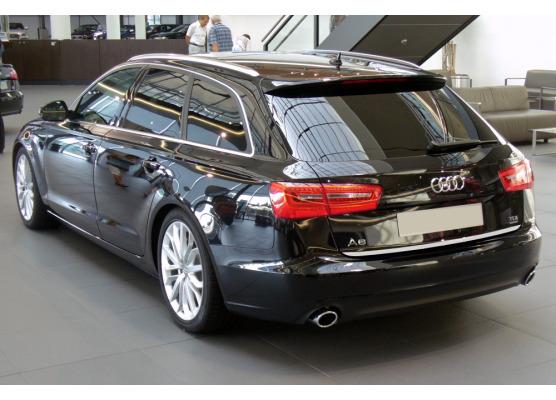 Trunk chrome trim Audi A6 Série 4 Avant 1015  Audi A6 Série 4 Phase 2 Avant 1418