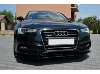 Radiator grill chrome moulding trim Audi A5 Cabriolet phase 2 1116 Audi A5 Coupé phase 2 1116 A5 S