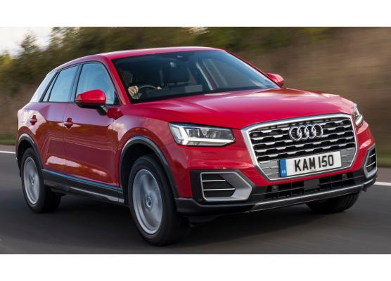 Fog lights chrome trim Audi Q2