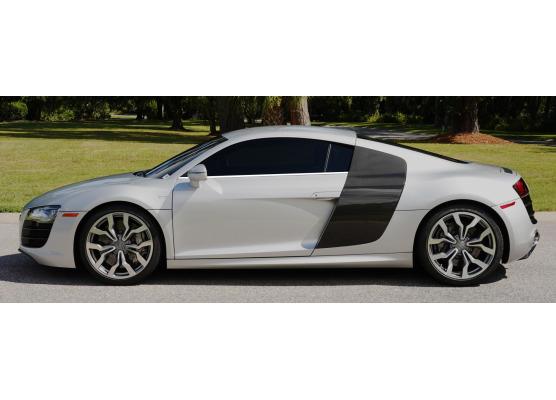 Side windows lower chrome trim Audi R8