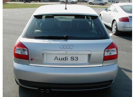 Trunk chrome trim Audi S3 9803