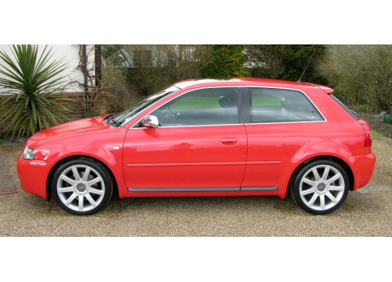 Side windows chrome trim Audi S3 9803