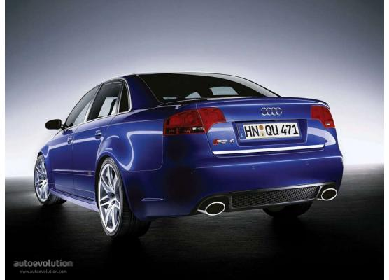 Trunk chrome trim Audi RS4 0508