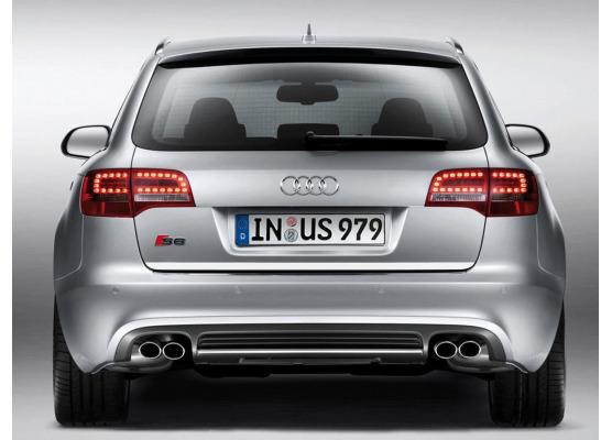ChromZierleiste für Kofferraum Audi S6 0608