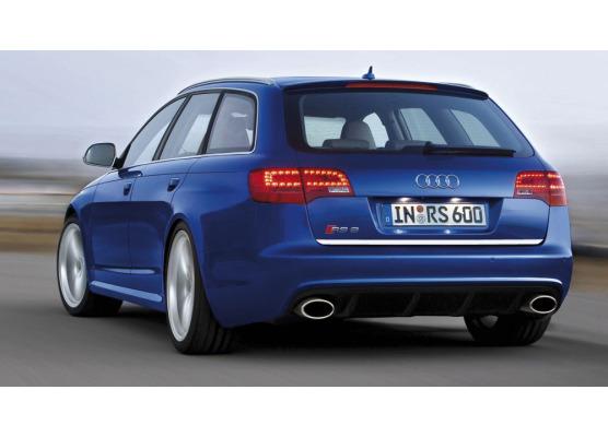 Moldura de maletero cromada Audi RS6 0820