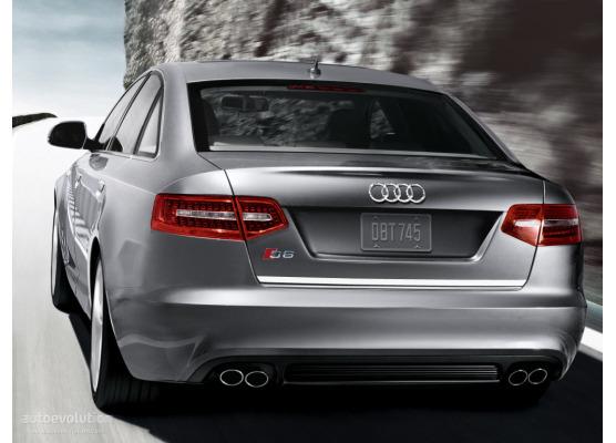 ChromZierleiste für Kofferraum Audi S6 0820