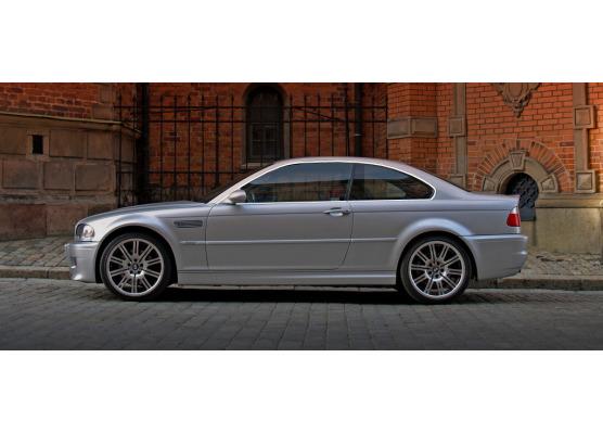 ZierChromleiste für seitliche Autofensterkonturen BMW M3 E46 0006