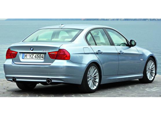 Fascia per bagagliaio cromata BMW M3 E90 Berline 0708E90 Berline LCI 0811E92 Coupé 0710E92 Cou