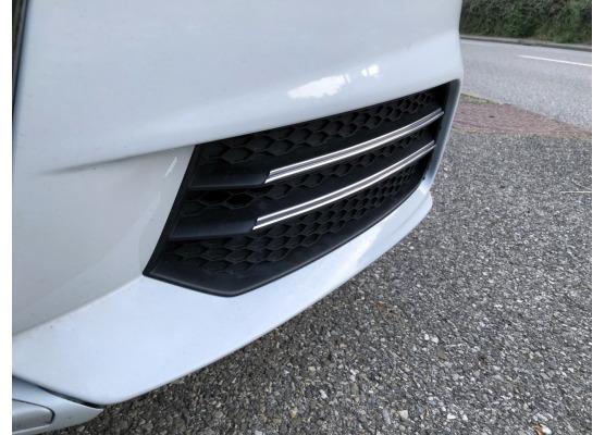 Doppia cornice cromata per fari antinebbia Audi A1