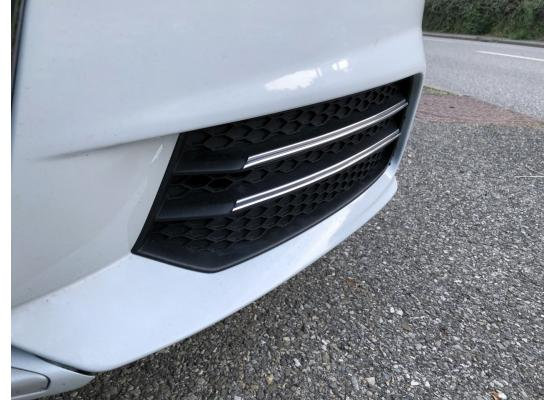 Fog lights dual chrome trim Audi A1