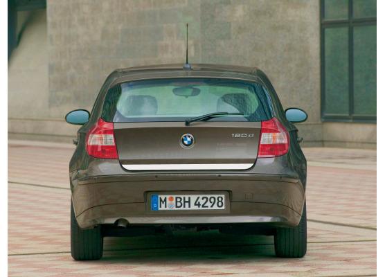 Trunk chrome trim BMW Série 1 E87 0407