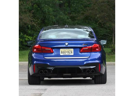 Moldura de maletero cromada BMW M5