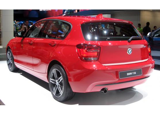 ChromZierleiste für Kofferraum BMW Série 1 F20 1121 5p