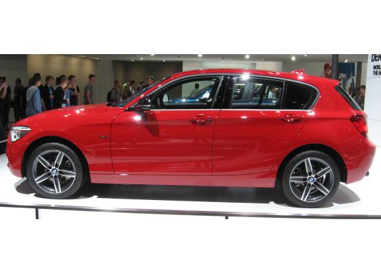 Fascia cromata di contorno inferiore dei vetri laterali BMW Série 1 F20 1121 5p