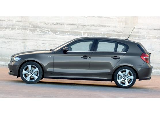 Side windows lower chrome trim BMW Série 1 E87 LCI 0711