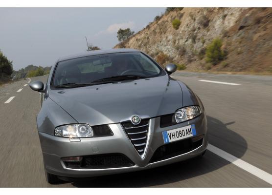 Cornice cromata per fari antinebbia Alfa Romeo GT
