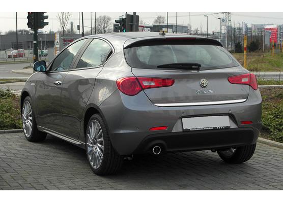 ChromZierleiste für Kofferraum Alfa Romeo Giullietta