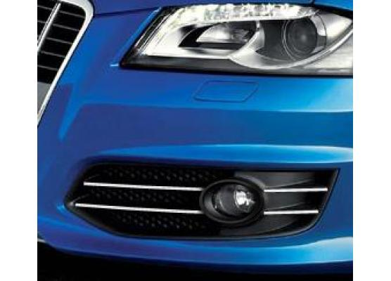 Fog lights chrome trim Audi S3 0619  Audi S3 sportback 0619