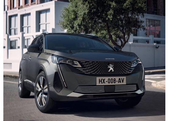 Moldura de calandria inferior cromada Peugeot 3008 II phase 2 2021