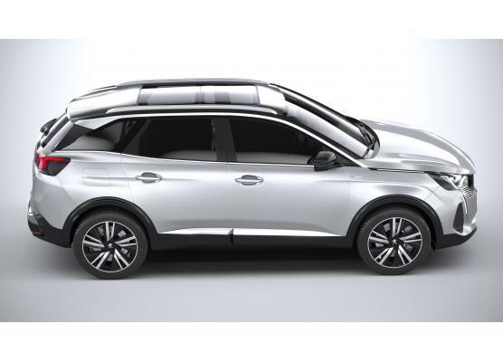 Side windows lower chrome trim Peugeot 3008 II phase 2 2021