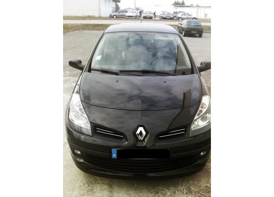 Baguette de calandre supérieure chromée Renault Clio 3