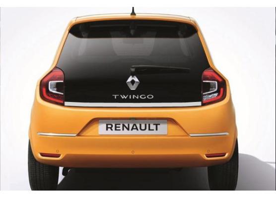 ChromZierleiste für Kofferraum Renault Twingo III