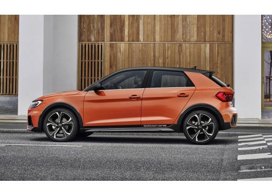 Side windows lower chrome trim Audi A1 1821 Sportback