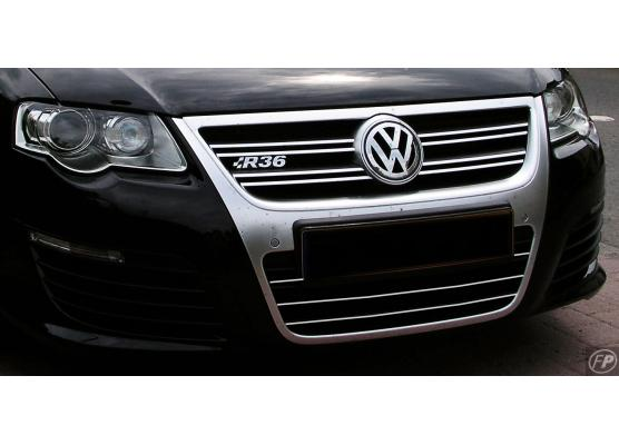 Lower radiator grill chrome trim VW Passat 0510