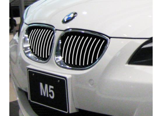 Moldura de calandria cromada BMW M5  BMW Série 5